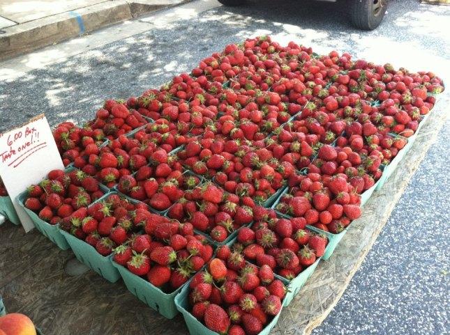 towson strawberries