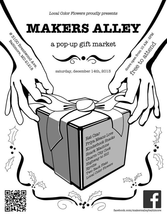 makers alley flyer